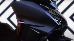 Honda Forza 750: una porzione dello scudo