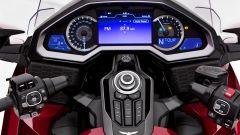Honda GL 1800 Gold Wing 2020: la plancia