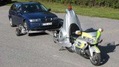 Honda Gold Wing Retriever: al posteriore un braccio idraulico la trasforma in carroattrezzi