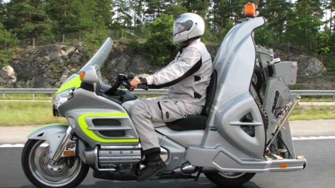 Honda Gold Wing Retriever: il carroattrezzi moto è servito