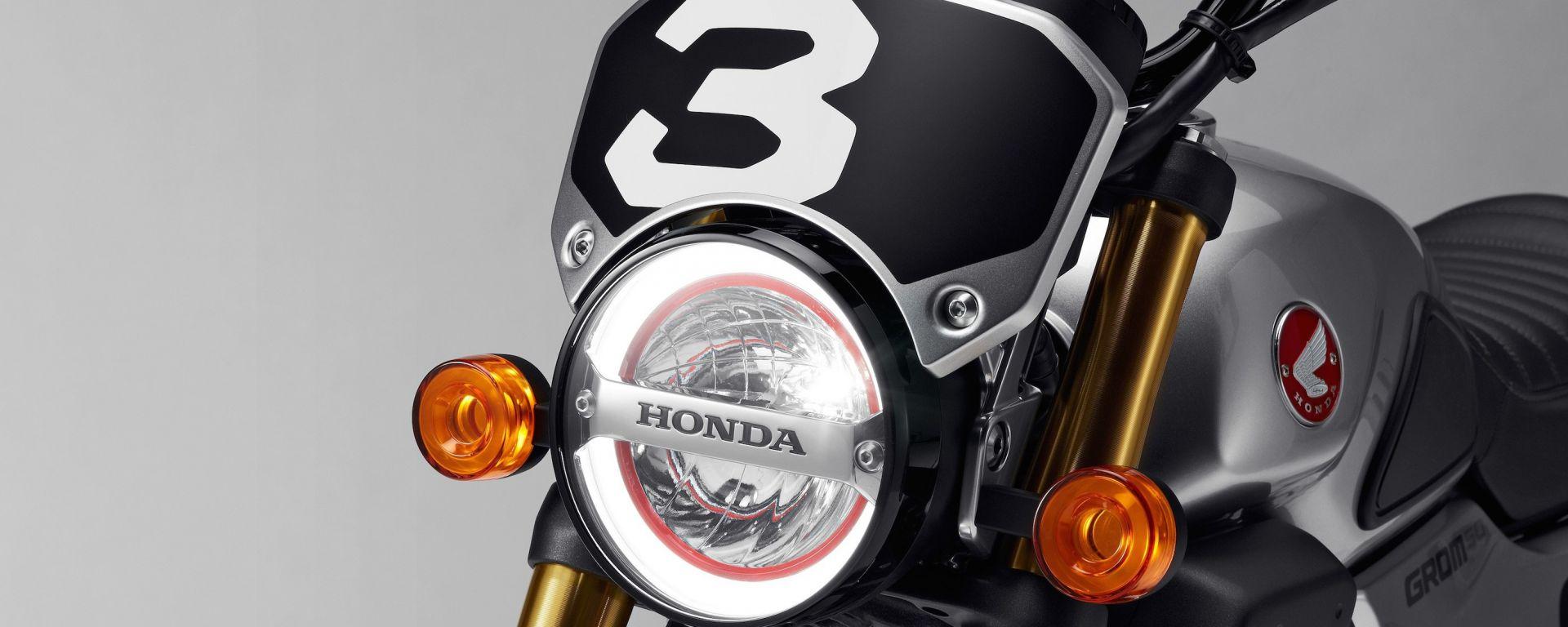 Honda Grom 50 Scrambler