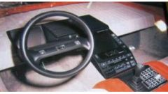 Honda HP-X gli interni