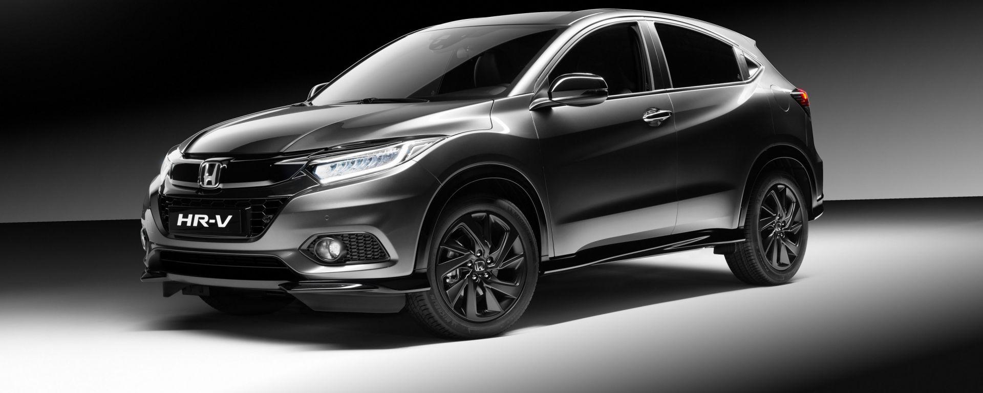 Honda HR-V Sport: il cuore della Civic