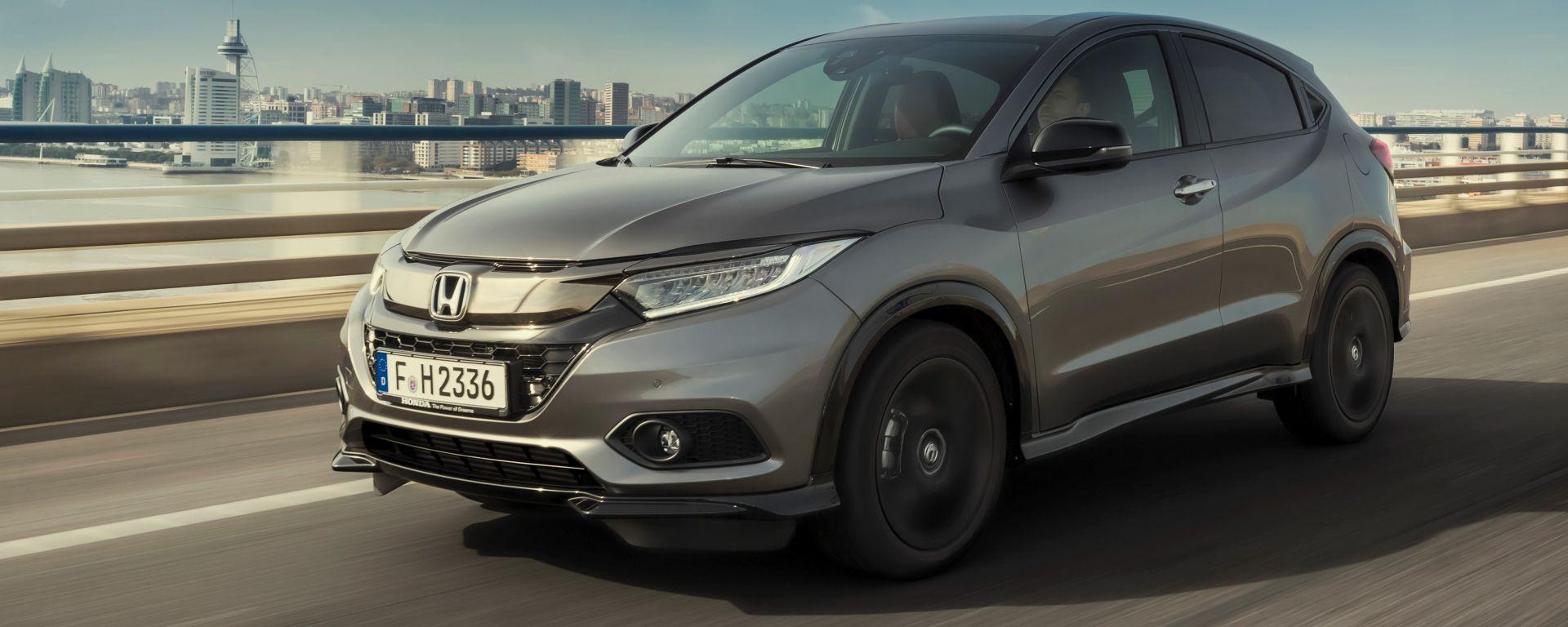 Honda HR-V 2019: il primo contatto con la versione Sport