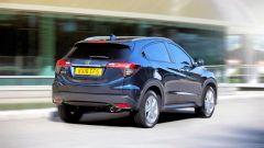 Honda HR-V 2019: vista 3/4 posteriore