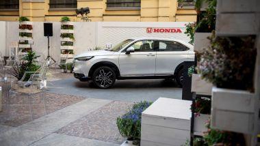 Honda HR-V 2021 alla Milano Design Week