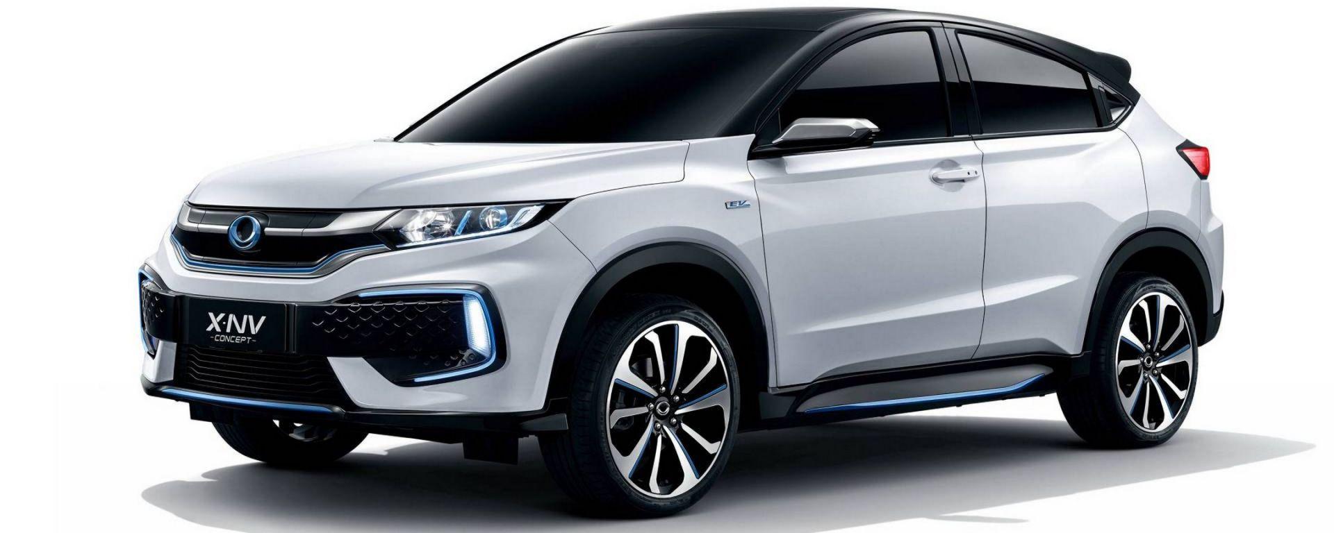 Honda HR-V EV: in Cina la concept che anticipa il SUV ...
