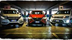 Honda HR-V vs Mazda CX-3 vs Suzuki Vitara  - Immagine: 1
