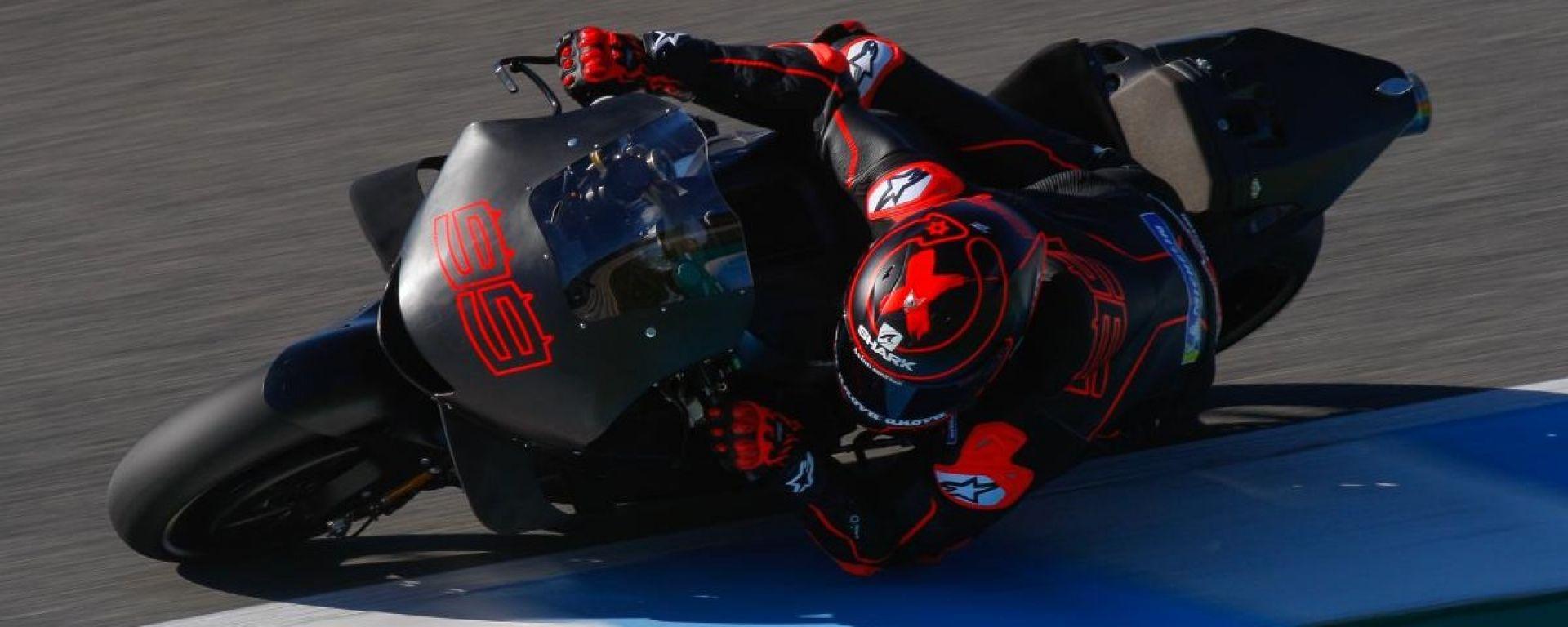 Honda fissa la presentazione del team con Lorenzo e Marquez