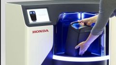 Honda, il distributore di batterie interscambiabili