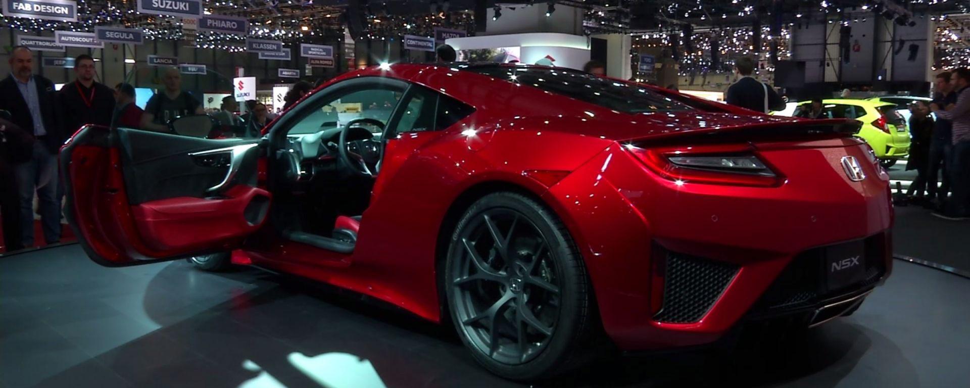 Honda: il video dallo stand