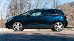 Honda Jazz 1.5 i-MMD Hybrid 2021: vista laterale