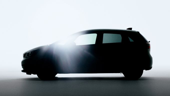 Honda Jazz 202'0: la foto teaser