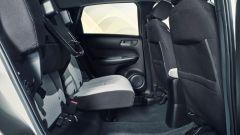 Honda Jazz Crosstar 2020: i sedili Magic Seat si possono anche alzare, oltre che distendere
