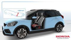 Honda Jazz hybrid 2020: studio anteriore