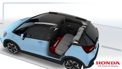 Honda Jazz hybrid 2020: studio posteriore