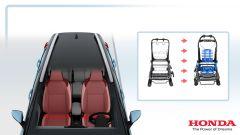 Honda Jazz hybrid 2020: studio sedute
