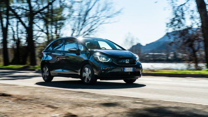 Honda Jazz Hybrid 2021: la prova su strada