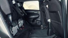 Honda Jazz Hybrid: i Sedili Magici sollevati