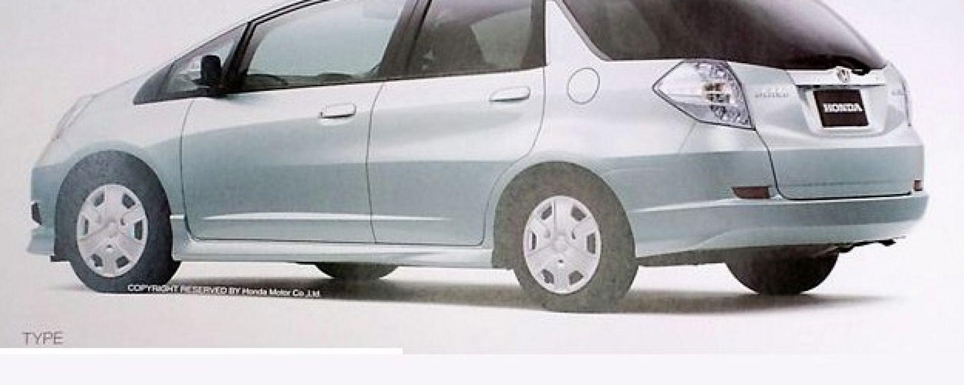 Honda Jazz station wagon