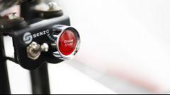 Honda Mean Mower: dettaglio tasto accensione