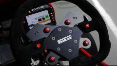 Honda Mean Mower: dettaglio volante sportivo Sparco