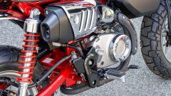 Honda Monkey 125 2018: dettaglio dello scarico
