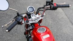 Honda Monkey 125 2018: il manubrio cromato