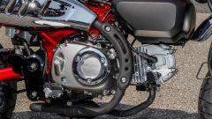 Honda Monkey 125 2018: il motore raffreddato ad aria