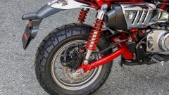 Honda Monkey 125 2018: la sospensione posteriore