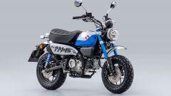 Honda Monkey 125 2022 in colore blu
