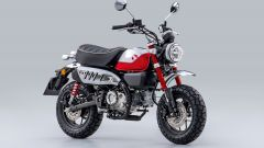 Honda Monkey 125 2022 in colore rosso