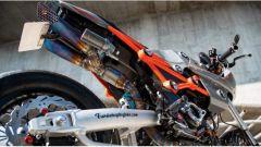Honda MSX 125 Grom Sakuma: il bellissimo doppio scarico sottosella