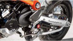Honda MSX 125 Grom Sakuma: pedane regolabili, paratacchi in carbonio, nuovo forcellone