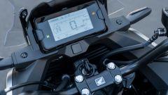 Honda NC750X 2021: la nuova strumentazione LCD