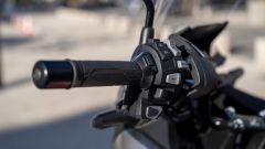Honda NC750X 2021: manopola e blocchetto sinistro. Da lì si gestisce tutta l'elettronica
