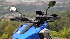 Honda NC750X DCT Travel Edition, ponte di comando