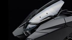 Honda NM4 Vultus: dettagio del parabrezza
