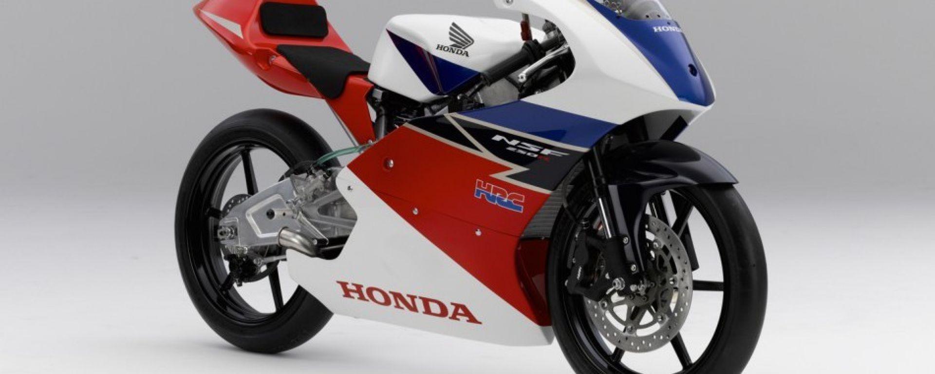 Honda svela ufficialmente la NSF250R Moto3