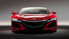 Honda NSX 2016: vista frontale