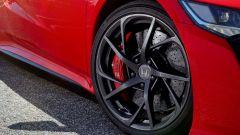 Honda NSX: i cerchi anteriori misurano 19 pollici