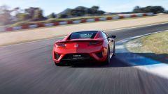 Honda NSX: in curva si sente l'azione Torque Vectoring data dall'azione dei motori elettrici
