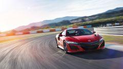 Honda NSX: in uscita di curva è fulminea
