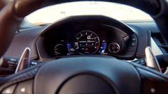 Honda NSX: la strumentazione è chiara e molto high tech