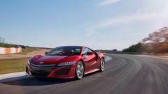 Honda NSX: la velocità massima dichiarata è di 308 km/h
