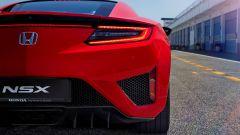 Honda NSX: l'estrattore posteriore