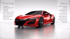 Honda NSX Total Airflow Management: esigenze termiche e aerodinamiche a confronto