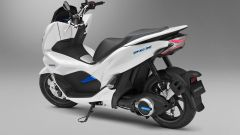Honda PCX Electric, vista posteriore