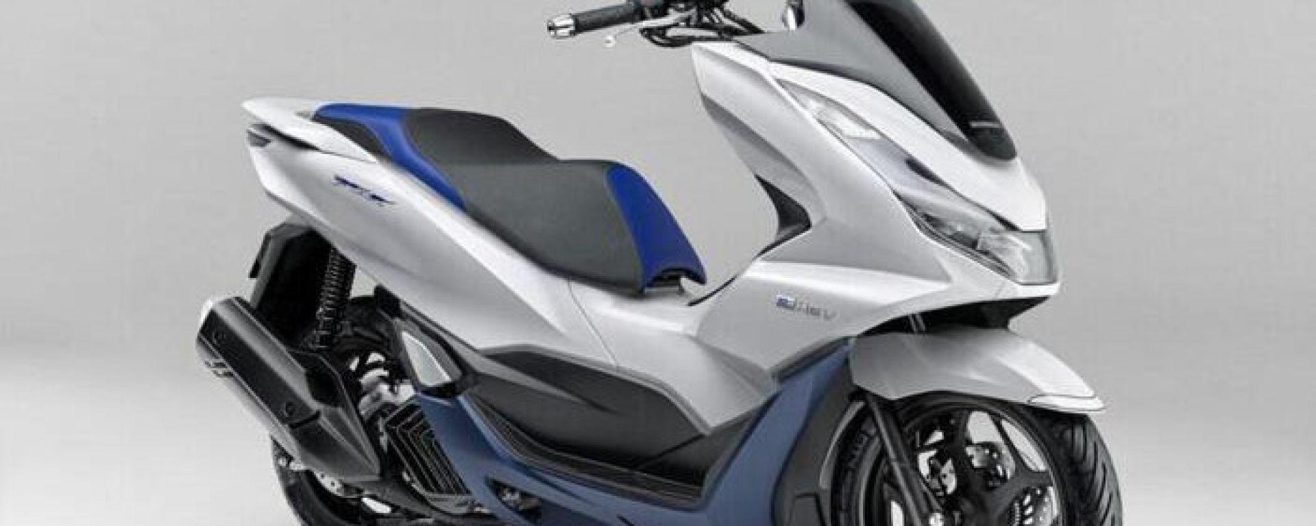 Honda PCX ibrido raggiunge la seconda generazione... ma solo in Giappone