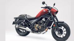 Honda Rebel 1100: foto, motore e possibili dati tecnici